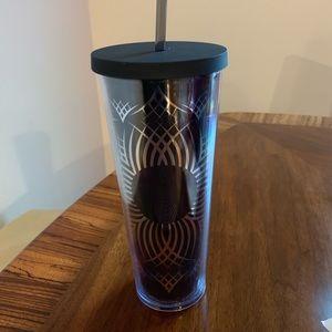 Black Venti Size Starbucks Cup
